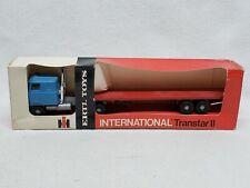 Vintage Ertl 1/64 International Transtar ll and Flatbed #1358 in box
