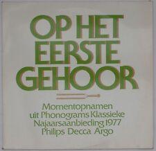 Op het eerste gehoor - Najaarsaanbiedingen 1977 [Phonogram 6812 267]