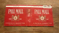 OLD CANADA CANADIAN CIGARETTE PACKET LABEL, PALL MALL BRAND