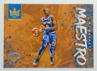 2019-20 Panini Court Kings Maestro RJ Barrett Rookie RC #1, New York Knicks