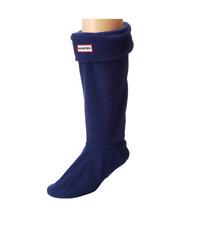 Hunter Women Tall Original Fleece Welly Socks Navy Size L B0727