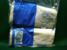 Nitrile Clean Room Gloves with textured fingers – x-small – Ansell #93-112