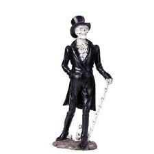 Day of the Dead Skeleton Gentleman Figurine New