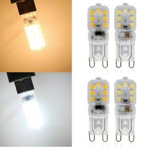 2/4X G9 8W Dimmable LED Light Bulbs Capsule Lamps 200-240V Replace Halogen Bulb