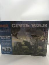 IMEX Confederate Artillery Civil War Figure Set -- 1/72 Scale Plastic  No. 502
