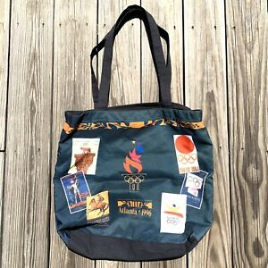 "1996 Summer Olympics Atlanta Ga Tote Bag Centennial Games Light Weight 20"" x 16"""