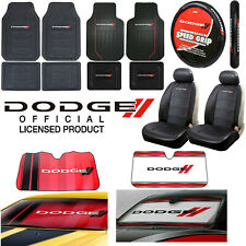 Dodge All Weather Floor Mats / Seat Covers / Steering Wheel Cover / Sun Shade