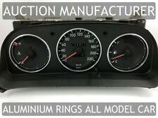 Toyota Corolla E10 1992-1997 Cerclages De Compteur Aluminium Anneaux Chrome x3
