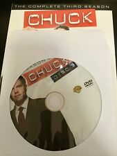 Chuck – Season 3, Disc 3 REPLACEMENT DISC (not full season)