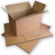 """5 x Large Sturdy Home Removal Storage Packaging Cardboard Boxes 31 x 23 x 26"""" DW"""