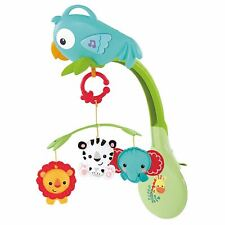 Fisher Price Rainforest Friends 3-in-1 Musical Mobile Baby Crib Cot