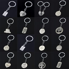 Paw Print Keychain Sister Dad Mom Daughter Son Family Keyring Christmas Gifts