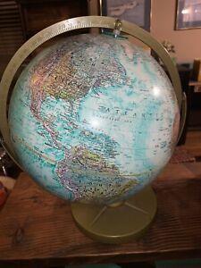 "Vintage Replogle Globe, ""World Ocean Series"", 12 Awesome decor"