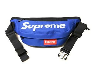 Supreme Blue  Fanny Pack Waist Bag Shoulder bag Messenger Crossbody bag Unisex