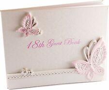 18th Birthday Guest Book for Girl / 18th Birthday Gift / Birthday Keepsake