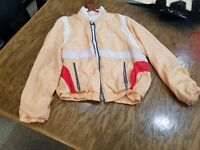 Sergio tacchini wind breaker jacket sz 40 designed in Italy RARE 1970-80's
