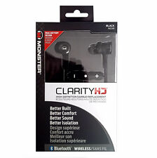 Monster Clarity HD 3 Tasten Bluetooth Stereo Headset Weiß Originalverpackt