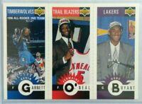 Kobe Bryant Upper Deck Mini Triple  Rookie # M129 rare hot Kobe rookie mint hot