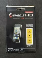 New Version Genuine ZAGG Invisible Shield HD Apple iPhone 4/4s Phone Protection