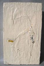 """Peter O. Hammann *1953 Freiburg /Objekt (Mischtechnik auf Holz) """"Fundstück"""" 1999"""