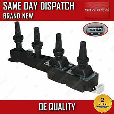 PEUGEOT 207,308,1007,PARTNER 1.6 IGNITION COIL PACK 2001>ON 2 YEAR WARRANTY NEW