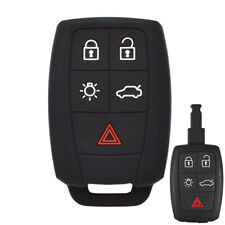 XUKEY Silicone Key Case Cover For Volvo XC90 C70 S60 V50 C30 Fob Remote Holder