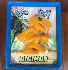 Talking 3D Digimon Agumon Digi Blast Wall Plaque Vintage 2000 Fun-4-All Sign