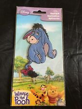 Disney Appliques - Winnie The Pooh - Embroidered Iron On Applique Patch - Eyeore