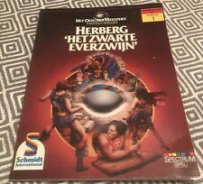 Herberg Hetzwarte Everzwijn Fantasy Spell Book Dutch Schmidt International 1985