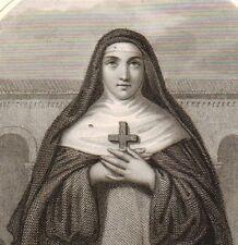 Portrait Sainte Thérèse d'Ávila Teresa de Jesús Gotarrendura Teresa of Ávila