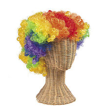 Circus Carnival Big Top Tent Halloween Party Costume ACCESSORY Rainbow CLOWN WIG