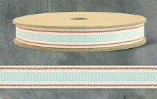 Ladder Stitch East Of India 3m Ribbon Spool Aqua
