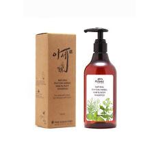 Assez Natural Phyton-Herbal Hair & Body Shampoo 390ml Wash Revitalizing Skin New