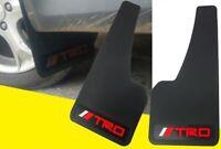 2pcs TRD Universal Power 3D Carbon FIBER Car Mudflaps Mud Guard Fender