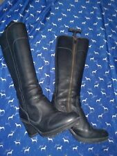 Timberland black boots size 5