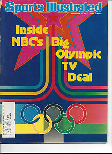 Sports Illustrated February 21 1977 NBC Olympic TV Deal