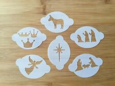 SET of 6 Christmas Story Face Painting stencils wash/reuse for just £8 BARGAIN