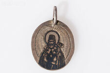 Russian Small Icon-Pendant, 19th century
