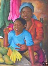 Beautiful 30X40 painting by Haitian Artist Claude SINAL