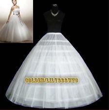 Six cerceau mariée mariage jupon qualité accessoires jupons élevés cerceaux