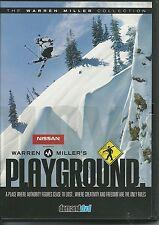 WARREN MILLER'S PLAYGROUND DVD - WINTER SPORT / SKIING