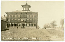 RPPC NY Sackets Harbor Eveleigh  House Main Street