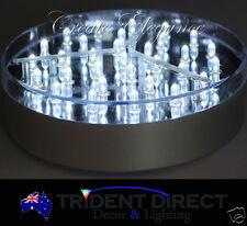 """LED Centrepiece Base Light Silver 6"""""""