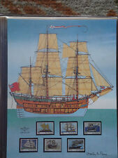 Mint Stamps of the World - New Zealand Sailing Ships - Mar 7, 1990