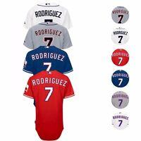 2017 Ivan Rodriguez Authentic Detroit Tigers Texas Rangers Jersey Collection