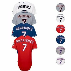 2017 Ivan Rodriguez Authentic Detroit Tigers Texas Rangers Jersey Collection