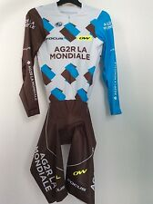 Skinsuit cycling combinaison ag2r Cyclisme pro issue team,service course