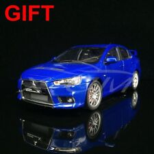 Car Model Mitsubishi Lancer Evolution X EVO X LHD 1:18 (Blue) + SMALL GIFT!!!