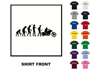 Evolution to bike #30 T Shirt - Free Shipping