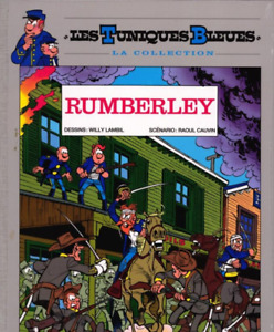 BD - LES TUNIQUES BLEUES, TOME 15 > RUMBERLEY / CAUVIN, DOS TOILE, HACHETTE NEUF